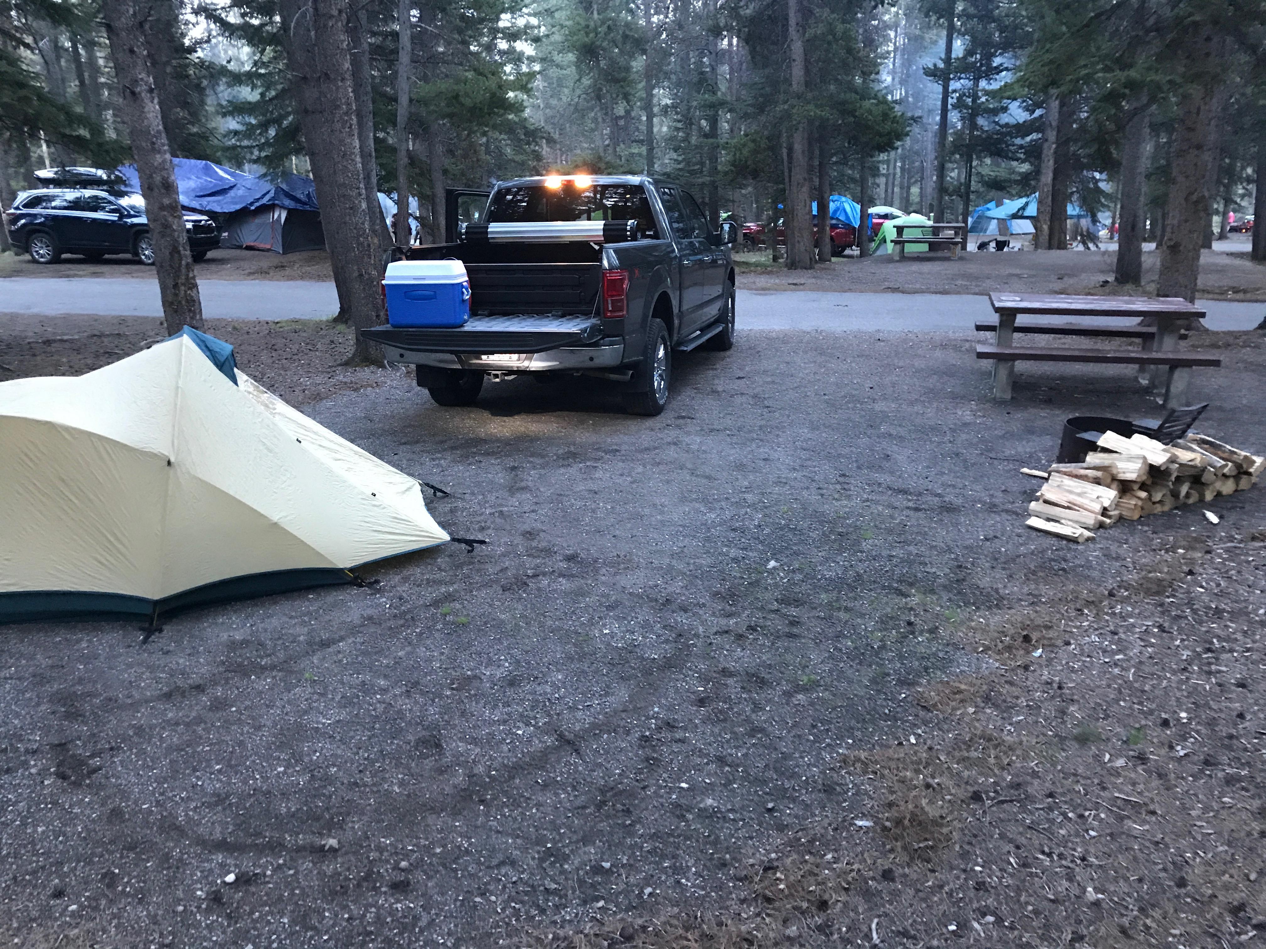 Banff Campsite